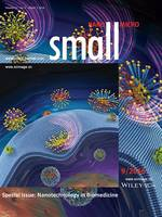 Molecular Modeling: Controlling the Nanoscale Rotational Behaviors of Nanoparticles on the Cell Membranes: A Computational Model (Small 9/2016) (page 1109)