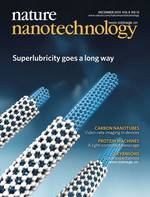 Superlubricity in centimetres-long double-walled carbon nanotubes under ambient conditions