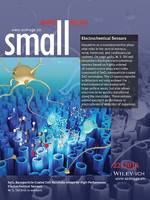 Electrochemical Sensors: SnO2 Nanoparticle-Coated ZnO Nanotube Arrays for High-Performance Electrochemical Sensors (Small 22/2014) (page 4684)